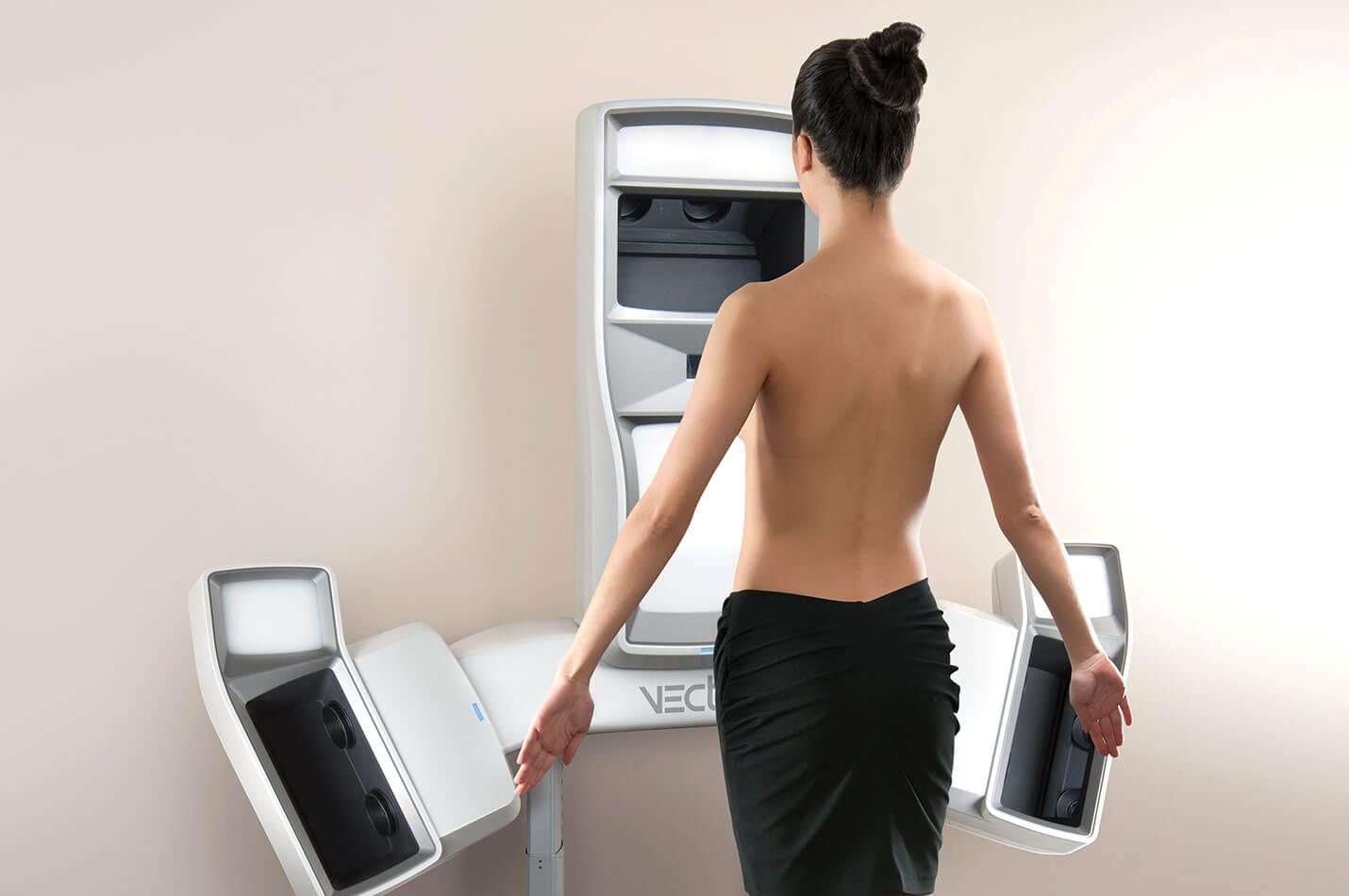 3d-simulering av bröst med Vectra XT 3D kamera