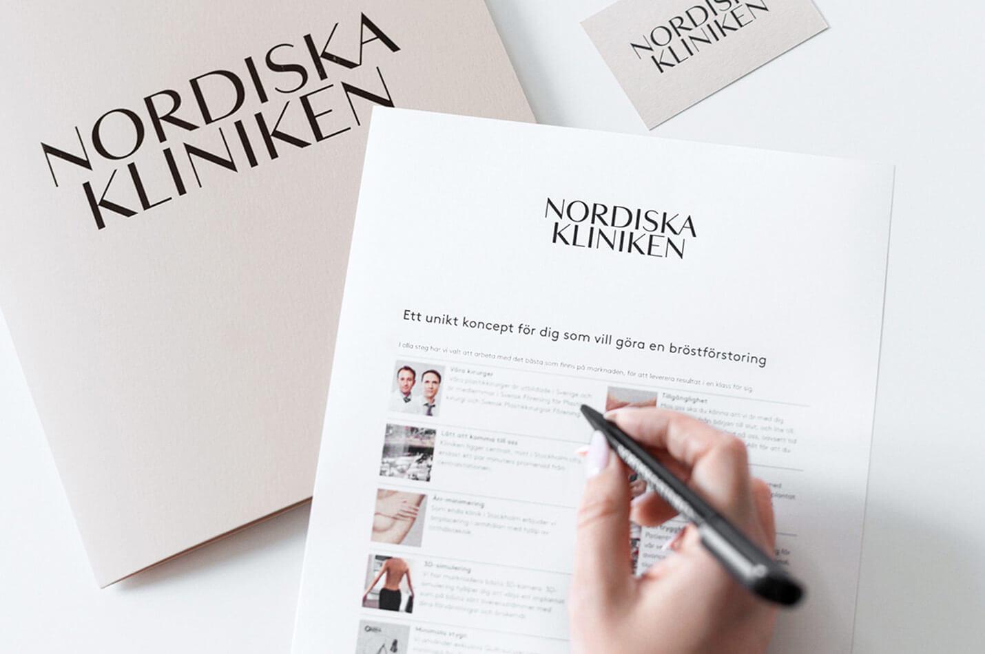 Nordiska Kliniken dokument
